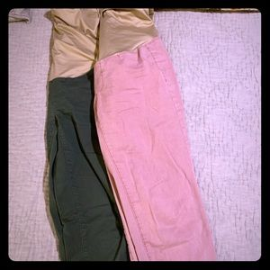 Mayerntit cropped pants by loft